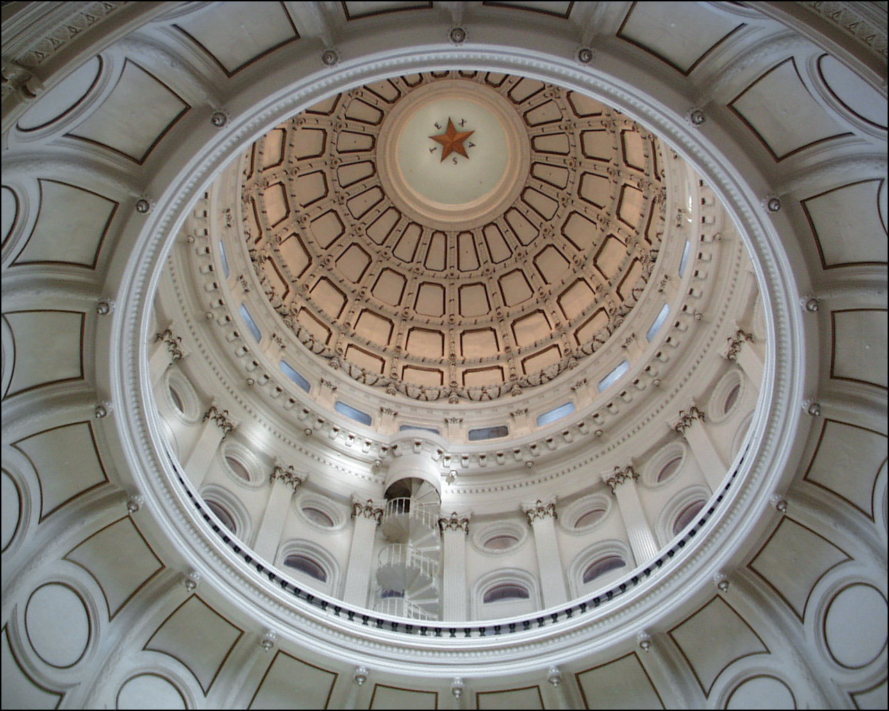 Texas Capitol Dome Inside